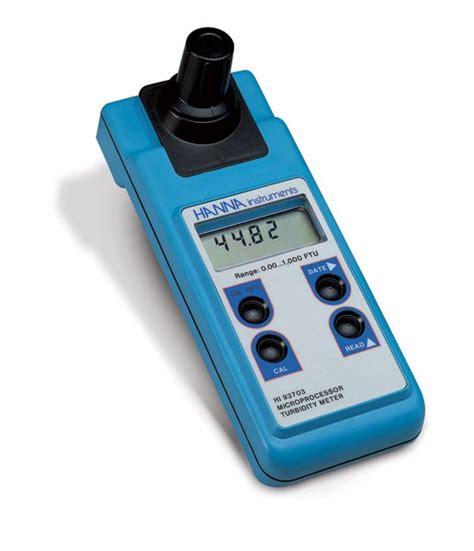 hi 93703 portable turbidity meter