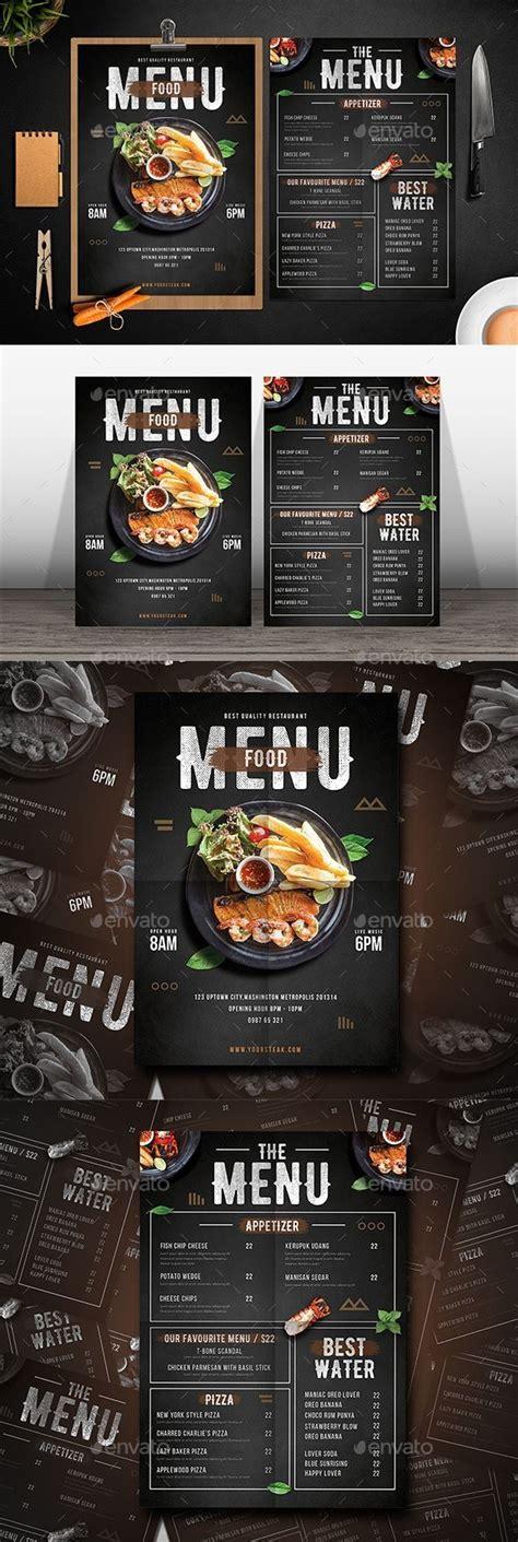 restaurant menu template foodmenu template designs