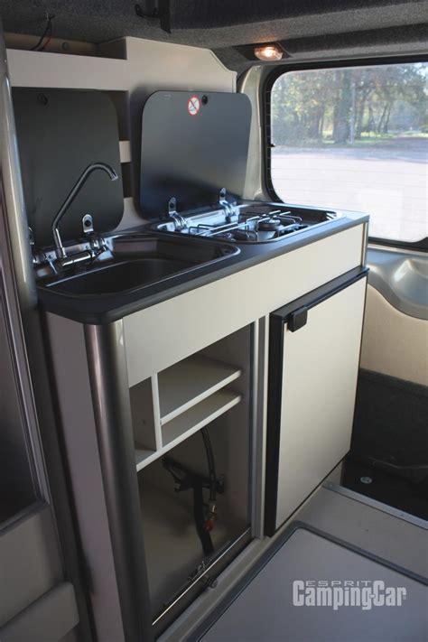 meuble cuisine caravane essai fourgon stylevan edition ford transit custom un