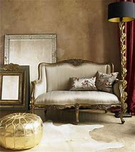 Silver and Gold Interior Design