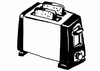 Toaster Coloring Printable Pages Edupics