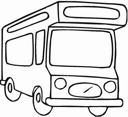 Coloring Bus Wohnmobil Ausmalbilder Ausmalbild Zum Kostenlos