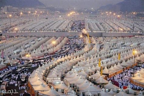 mecca tent city   empty   weeks   year quora