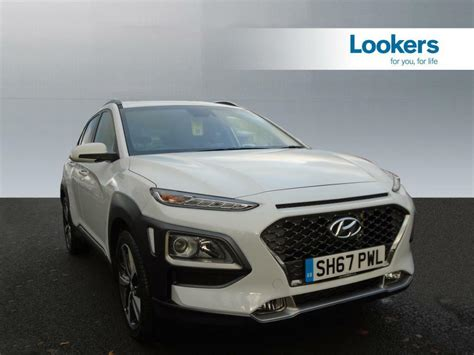hyundai kona premium hyundai kona premium se white 2017 10 31 in motherwell