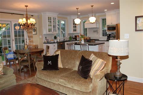 best floor for kitchen and living room happy kitchen living room open floor plan pictures best