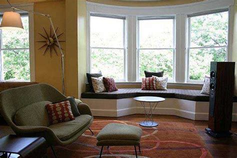 bay window decor 30 bay window decorating ideas blending functionality with modern interior design