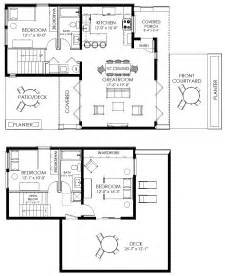 small house plan small contemporary house plan modern cabin plan the house plan site - Small Modern Floor Plans