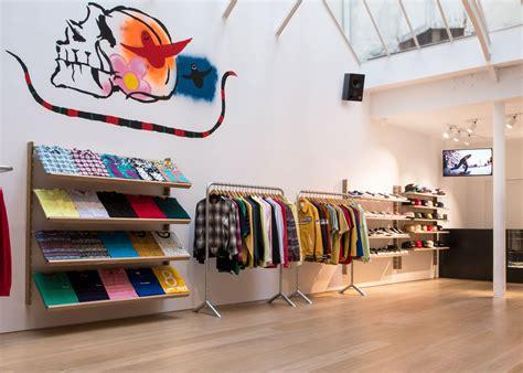 supreme clothing retailers brinkworth designs clean interior for supreme store