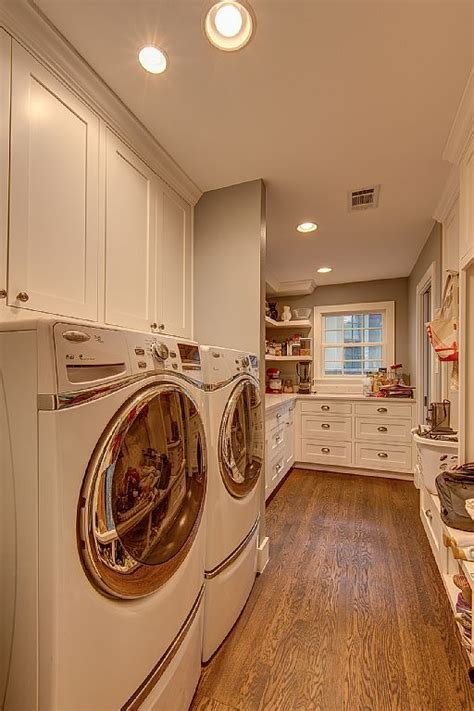 walk  butlers pantry  full size washer dryer
