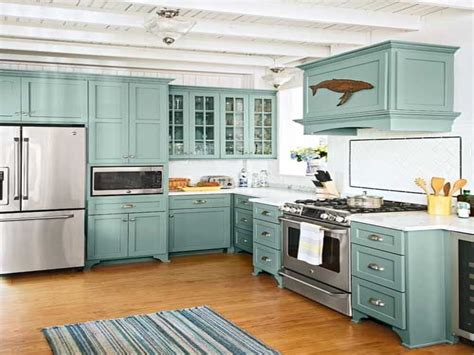 Relaxing Room Decor Beach Cottage Kitchen Cabinets
