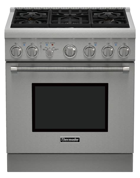 thermador gas cooktop thermador 30 quot harmony standard depth gas range prg305ph