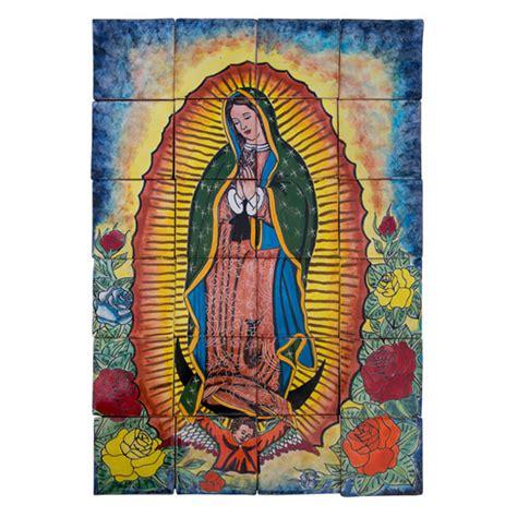 virgen de gudadalupe de colores colores de mexico