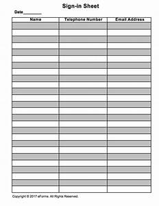 sign in sheet templates haisume With employee sign in sign out sheet template