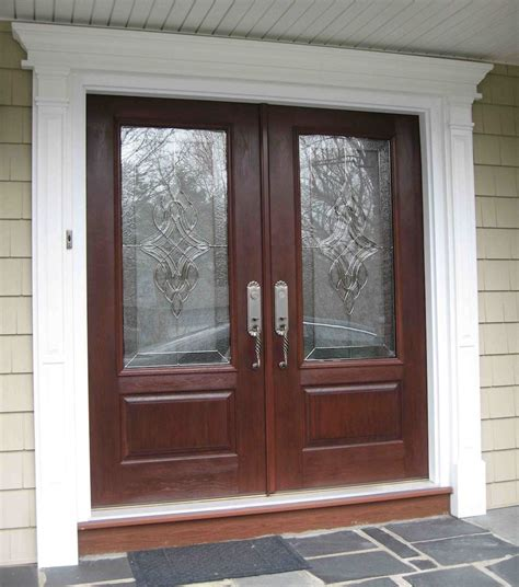Front Entrance Doors by Front Door With Wide Trim For The Home Ideas