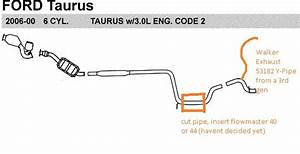 Diagram  2004 Ford Taurus Exhaust System Diagram Full