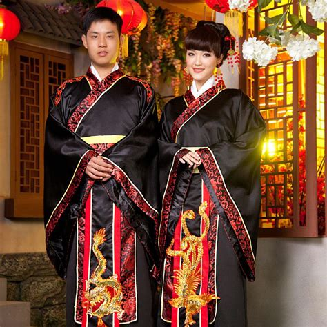 han chinese clothing costume wedding dress  men