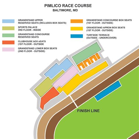 preakness stakes seating chart derbyboxcom