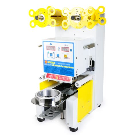 electric fully automatic tea cup sealing machine   cuphr wyz works
