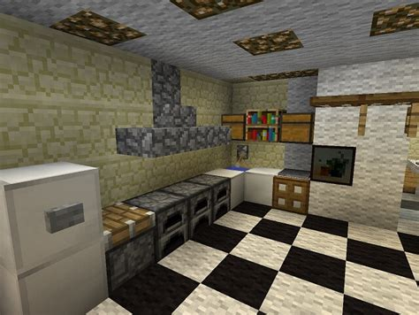 kitchen minecraft furniture