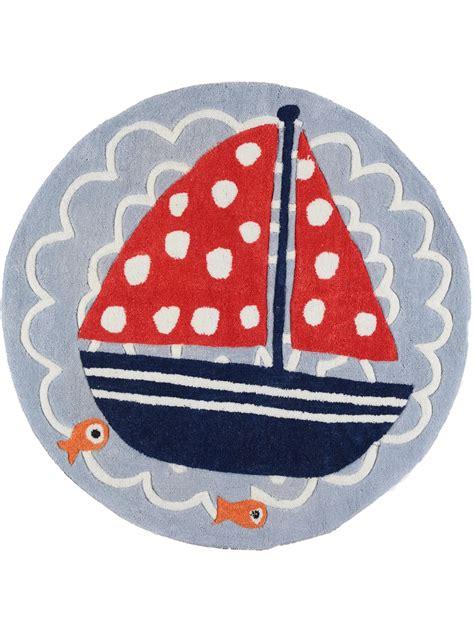Kinderzimmer Junge Maritim by Der Kinderteppich Ship Blau Ist Das Perfekte Accessoire