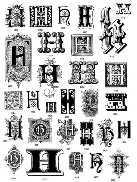 From: Victorian Decorative Letters CD-ROM and Book | embroidery-fonts, monograms... | Pinterest