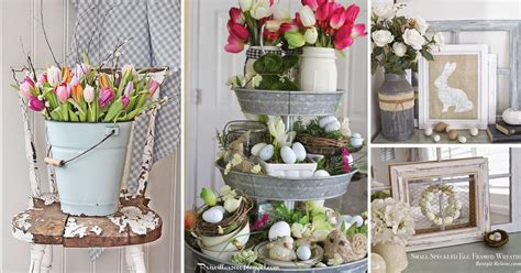 Rustic Easter Decorations Bringing Farmhouse Appeal
