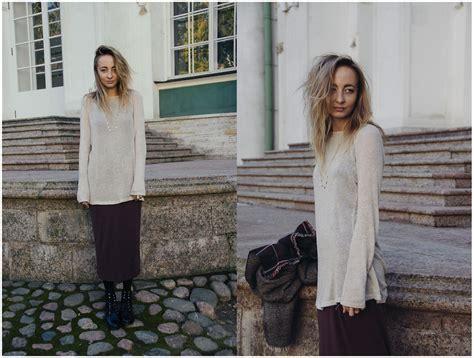 Brandy Melville Usa Sweater, Topshop Maxi Skirt, Maje Boots