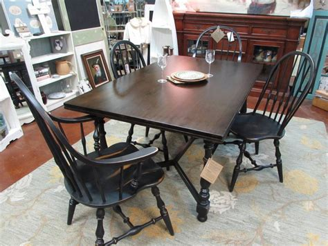 ethan allen vintage farm style table and chairs just