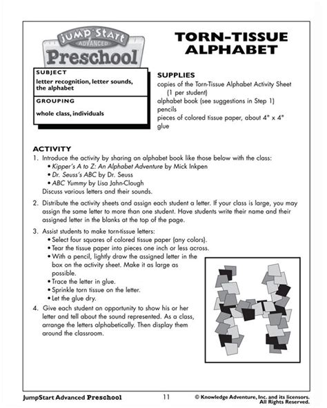 preschool activities lesson plan 1000 images about alphabet activities on 486