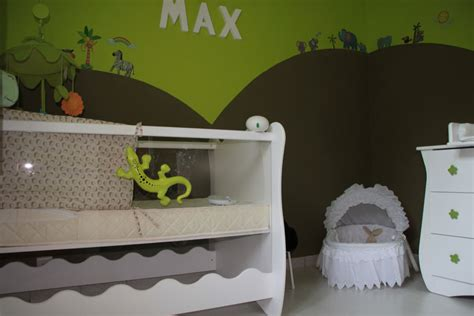 chambre theme jungle deco chambre bebe savane jungle