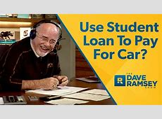 Use Student Loan To Pay For New Car? YouTube
