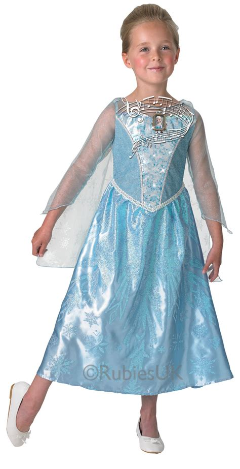 light up costumes musical light up elsa costume frozen fancy dress