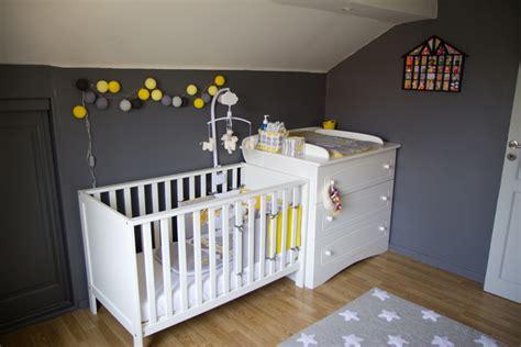 deco chambre bebe gris deco chambre bebe jaune gris