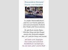 Gedicht Diamantene Hochzeit Ursula und Adalbert von Kurt