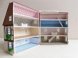 Basteln Mit Tapete : basteln h16095 7 cm scale 1 144 pocket baby house mit dachgaube und tapete ~ Orissabook.com Haus und Dekorationen