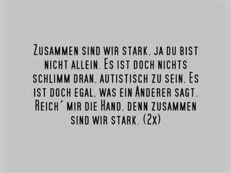 Mister S  Zusammen Sind Wir Stark (song über Autismus