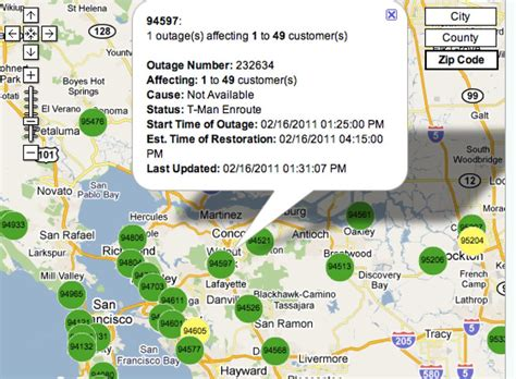update residents report power coming   walnut