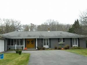 Grey Painted Brick House Painted Gray Brick House Supreme
