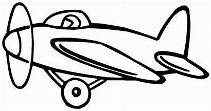 Transportation Clipart Drawing Water Coloring Air Airplane