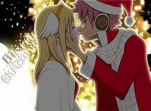 natsu x lucy kiss