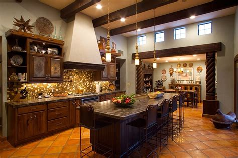 Interior Color For Mexican Themed Kitchen #731  Kitchen Ideas