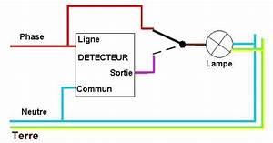 Branchement Detecteur De Mouvement : lampe ext rieur interrupteur d tecteur ~ Dailycaller-alerts.com Idées de Décoration