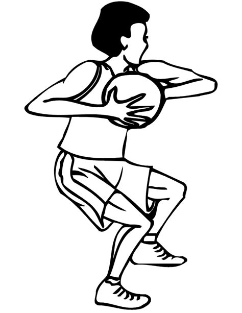 basketball player clipart black and white basketball player cliparts co
