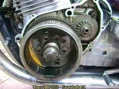 replace  starter clutch   suzuki gs  motorcycle