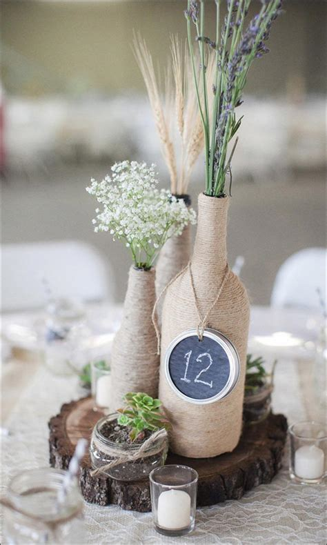 elegant diy wedding centerpieces    idiot proof