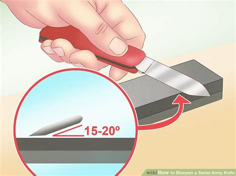 How To Sharpen A Swiss Army Knife 10 Steps (with Pictures