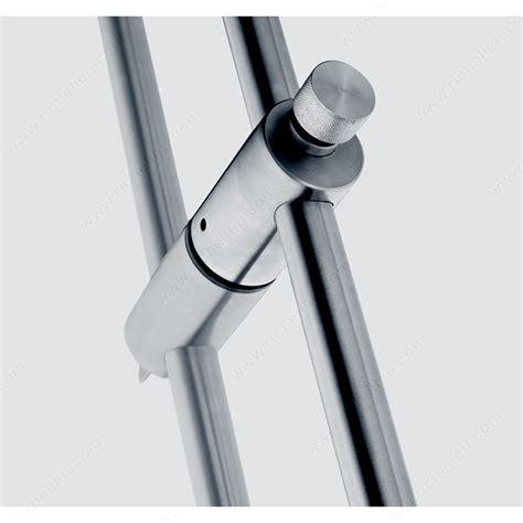 poign 233 e tubulaire avec serrure pour porte vitr 233 e hauteur