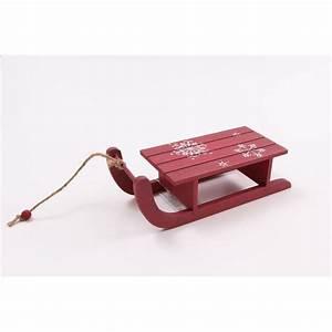 Schlitten Aus Holz : deko schlitten aus rotem holz 20cm lang 5 95 ~ Yasmunasinghe.com Haus und Dekorationen
