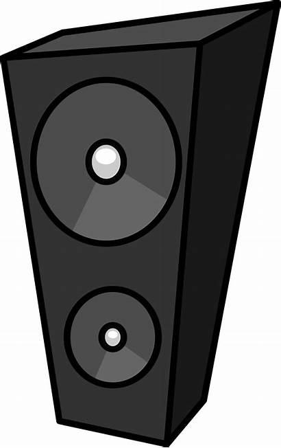 Clipart Dj Cartoon Transparent Speaker Box Animated