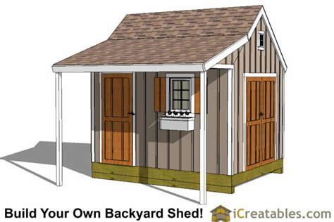 barn shed plans 8x10 10x12 shed plans building your own storage shed